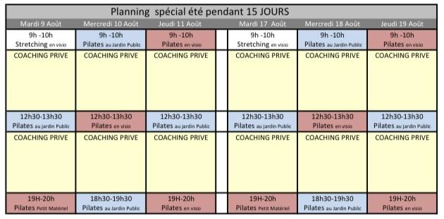 réserver votre cours de pilates à Bordeaux